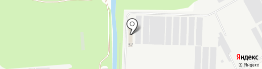 Дзержинское на карте Дзержинска