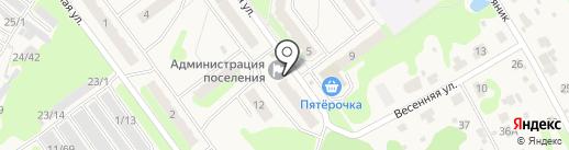 Гидроторфская поселковая администрация на карте Гидроторфа