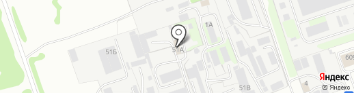 Ресурссервис на карте Дзержинска