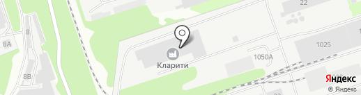Кларити на карте Дзержинска
