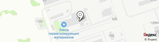 ЗГМ на карте Дзержинска