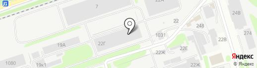 Трек-НН на карте Дзержинска