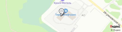 Вольво Восток на карте Дзержинска