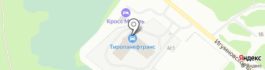 ТИРОПАНЕФТРАНС на карте Дзержинска