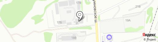 ПолимерПласт на карте Дзержинска