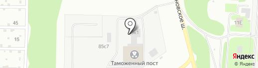 Нижегородская таможня на карте Дзержинска