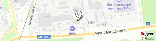ТМК на карте Дзержинска