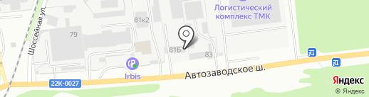 КОВОФИНИШ на карте Дзержинска