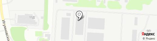 Компания Хома на карте Дзержинска