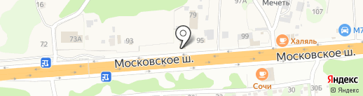 Чайхана-сомон на карте Северного