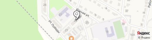 Лукинская поселковая библиотека на карте Лукино