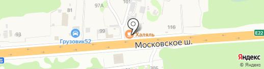 Мотель на карте Северного
