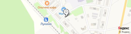 Киоск по продаже печатной продукции на карте Лукино