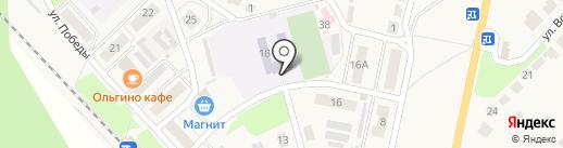 Средняя общеобразовательная школа №18 на карте Лукино
