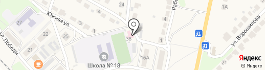 Врачебная амбулатория на карте Лукино