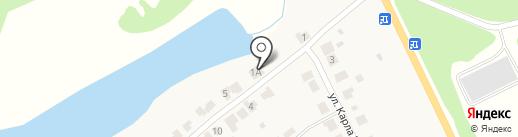 Продуктовый магазин на карте Лукино