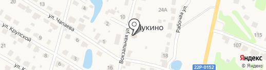 Церковь в честь иконы Казанской Божьей Матери на карте Лукино