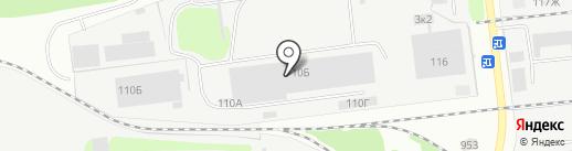 АВТОРА на карте Дзержинска