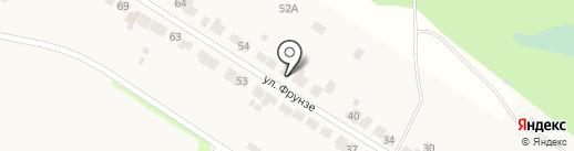 Магазин продуктов на карте Лукино