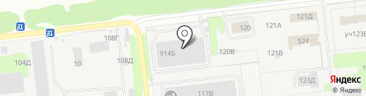 Спрингс Альянс на карте Дзержинска
