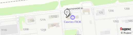 Велон на карте Дзержинска