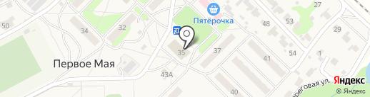Дом культуры на карте Первого Мая