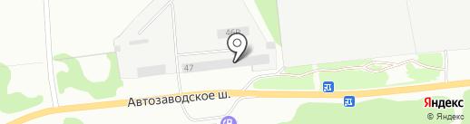 Авторегион52 на карте Дзержинска