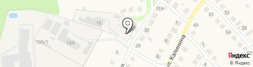 Пожарная часть №128, 12 ОГПС на карте Большого Козино