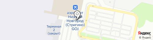 Форвард на карте Нижнего Новгорода