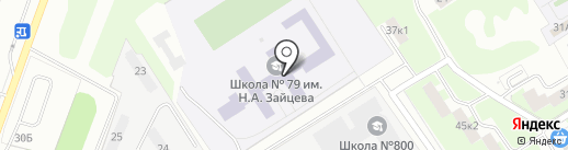 Нижегородская Федерация Годзю-рю на карте Нижнего Новгорода