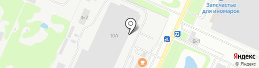 Мэйджор Терминал на карте Нижнего Новгорода
