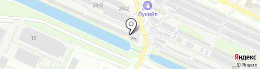 Магазин автозапчастей на карте Нижнего Новгорода