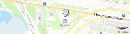 Банкомат, Банк ФК Открытие, ПАО на карте Нижнего Новгорода