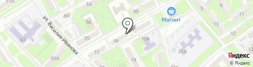 Strizhka на карте Нижнего Новгорода