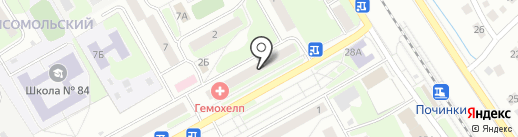 Ломбард Звонок на карте Нижнего Новгорода