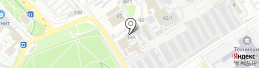Титан на карте Нижнего Новгорода