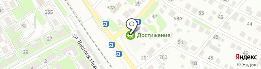 СТО на карте Нижнего Новгорода