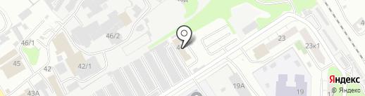 Komplex-Host на карте Нижнего Новгорода