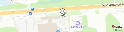 МЕГА Машинери на карте Нижнего Новгорода