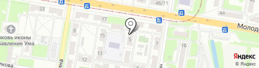 Компания по вывозу металлолома на карте Нижнего Новгорода