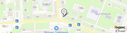 Антикварный магазин на карте Нижнего Новгорода