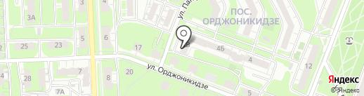 Sushi-star на карте Нижнего Новгорода