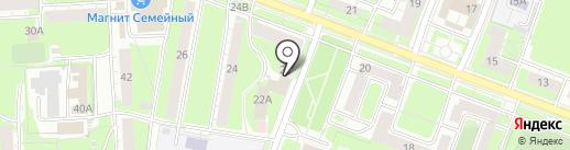 Магазин семян и удобрения на карте Нижнего Новгорода