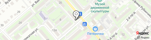 Лит.Ra на карте Нижнего Новгорода