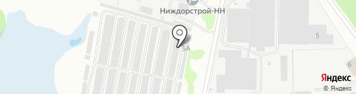 Гранд Сервис НН на карте Нижнего Новгорода