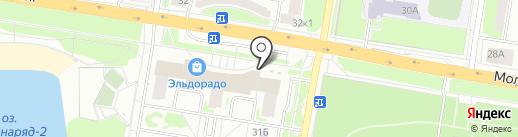 Магазин печатной продукции на карте Нижнего Новгорода
