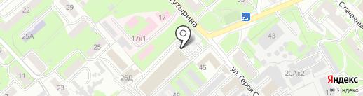 Союз-Авто на карте Нижнего Новгорода