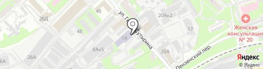 АКЕЛА на карте Нижнего Новгорода