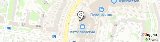 Colorist на карте Нижнего Новгорода