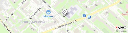 Киоск по продаже молочной продукции на карте Нижнего Новгорода